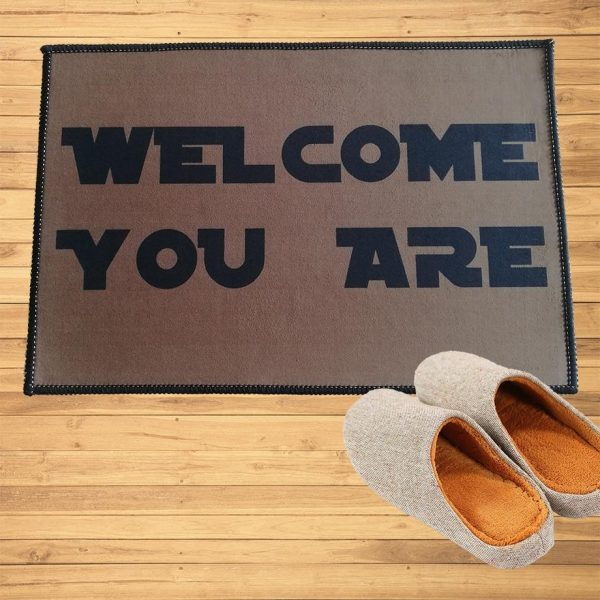 Paillasson Welcome You Are